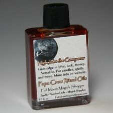 High John the Conqueror Oil Anoint Candles Use Spells Wicca Voodoo Full Moon