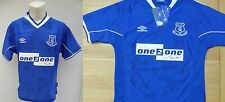 1999-00 Everton Home Shirt Signed by Squad inc. Watson, Hughes, Smith +++ (9234)