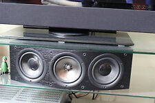 Kef iq60c centerspeaker en Noir-comme NEUF & OVP!