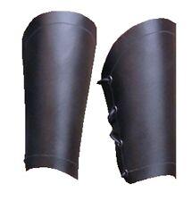 Armschiene hochwertiges Leder 19cm   1 paar Larp Armstulpen Wikinger Ritter