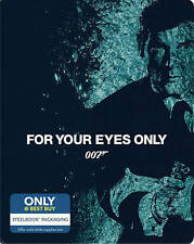 007 For Your Eyes Only NEW steelbook steel book bluray disc - No Digital Moore