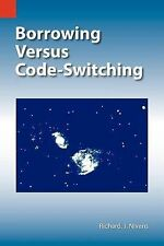 Borrowing Versus Code-switching in West Tarangan Indonesia (SIL Intern-ExLibrary