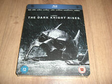 The Dark Knight Rises Blu-Ray Steelbook NEU