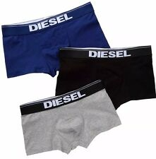 NWT Diesel Rocco. Sz M, Men 3 Pack. Cotton, Boxer, Multi-Color Solid. MRSP $39.0