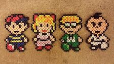 Earthbound SNES Perler Art (Ness, Paula, Jeff, Poo and more (Mother 2))