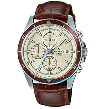 Brand New Casio Edifice EFR-526L-7B Mineral Glass Watch