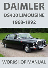 DAIMLER DS420 LIMOUSINE WORKSHOP MANUAL