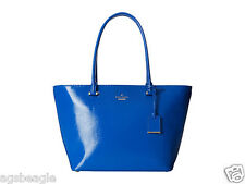 Kate Spade Bag PXRU5134 Cedar Street Patent Small Harmony Orbit Blue Agsbeagle