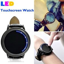 Japanese Style Inspired Blue LED Touchscreen Abyss Watch