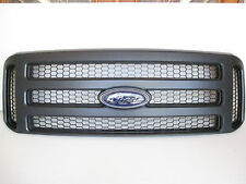 2007 F250-F350 FORD BLACK MATTE GRILL CONVERSION FITS 99-04,2017 NO FADE EMBLEM