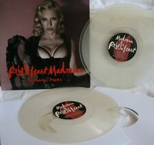 "NEW! Madonna ""Rebel Heart"" Bonus Edition 2lp Clear Disc Vinyl Picture Cover"
