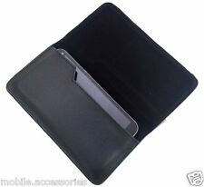 High Quality Side PU Leather Pouch Cover for LG OPTIMUS L5II Dual (E455) - PB