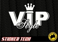 VIP CROWN STYLE STICKER DECAL SUITS TOYOTA JDM AURION 300C HONDA HOLDEN HSV FPV