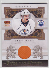 2010 10-11 Crown Royale Heirs to the Throne Materials #TH Taylor Hall RC Year