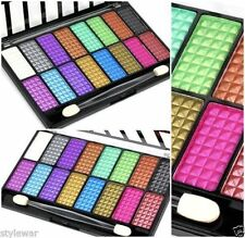 New Saffron 16 Colour Powder Shimmer Eyeshadow Palette Make Up Set Eye Shadow