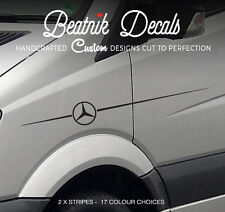Mercedes Sprinter Logo Sticker Side Stripe Decal Graphic 311 313 Van or Camper