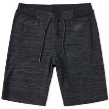 "NIKE MEN ""TECH KNIT"" SPORTS CASUAL SHORTS LARGE NWT BLACK 728675-010 COT NYLON"