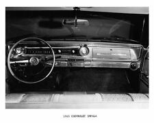 1965 Chevrolet Impala Interior Dashboard Photo Poster zc4653-THNKF9