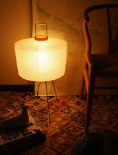 ISAMU NOGUCHI AKARI 6A Floor Light, Lamp - Free Shipping from Japan