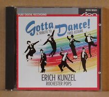 CD Erich Kunzel Rochester Pops  Gotta Dance! A Tribute to Fred Astaire Sion 1990