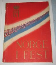1945 BOOK - NORGE I FEST - WWII LIBERATION - MITTET & CO. A/S - OSLO NORWAY