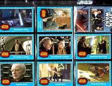 Star Wars The Force Awakens 110 Blue card set