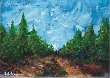 Original Abstract Acrylic Painting Landscape - Path (2000-Now) Artist