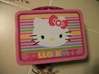 Hello Kitty Pink SQUARE LUNCH BOX TIN collectible great gift