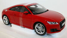 Minichamps 1/18 Scale Audi TT Coupe 3rd Generation Tango red diecast model car