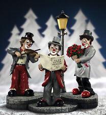 Gilde Clown handbemaltes Gildeclown Podest Deko Bühne Trilogie 20 x 24 cm 10153