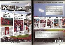 NEW BOSTON GLOBE GREATEST SPORTS STORIES BEYOND THE HEADLINES 2005 PATRIOTS DVD