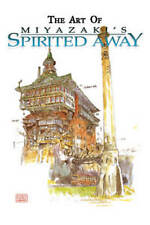 The Art of Miyazaki's Spirited Away by Hayao Miyazaki Hardcover Book English new