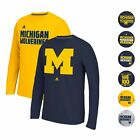 MICHIGAN WOLVERINES ADIDAS CLIMALITE ULTIMATE PERFORMANCE LONGSLEEVE SHIRT MEN'S