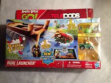 Angry birds go telepods Dual Launcher By Hasbro