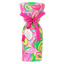Lilly PULITZER WINE TOTE bag koozie All Nighter beach tailgate cooler PINK