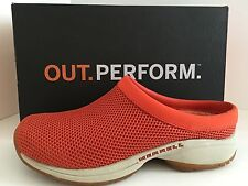 MERRELL J63688 Primo Breeze ll Women Mesh Sandals Clogs Size 11 M Coral $95