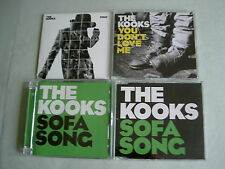 THE KOOKS job lot of 4 CD/DVD singles Sofa Song You Don't Love Me Sway