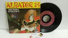 45T BO Albator 84 LP Vinyle Franck Olivier CD Carrere RAG Narcisse X4 TOEI A2 VF