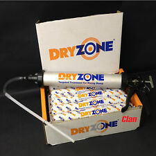 **FANTASTIC DEAL**DRYZONE 600ml TUBE x10 + GENUINE COX APPLICATOR DAMP PROOFING