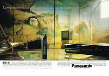 PUBLICITE ADVERTISING   1988    PANASONIC   magnétoscope  ( 2 pages)
