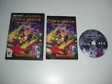 Chaos League - Sudden Death Includes original Chaos League game Pc Cd FAST POST
