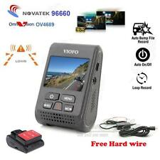 Car Dash Camera DVR A119 Capacitor GPS HD 1440P LDWS + Hard Wire