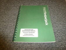 Timberjack 380C 450C 480C Cable Skidder Owner Operator Maintenance Manual
