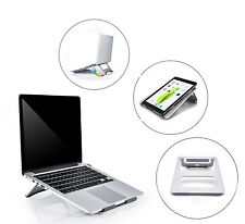 Multi Angles Desktop Aluminum Alloy Laptop Holder Dock Stand for iPad MacBook