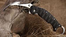 New TwoSun Mirror 420J2 Blade Karambit Folding Pocket Claw Knife TS-MB-01