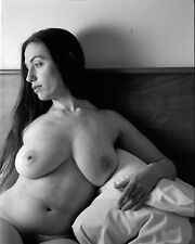 8 x 10 Fine Art NUDE female model naked Black & White photo, erotic art! Signed!