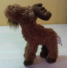 "Gund Moorie Jr. the Moose Reindeer Plush 7.5"" stuffed animal toy boys girls"