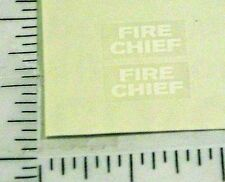 Dinky Toys #257 Nash Rambler Fire Chief Stickers DK-003