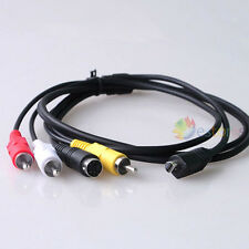 VMC-15FS AV Cable For Sony HDV HDD HD DV Camcorder Handycam VMC-30FS