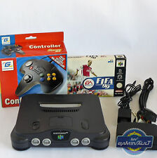 Nintendo N64 Console Bundle with Controller, Memory Card & 1 Boxed Game